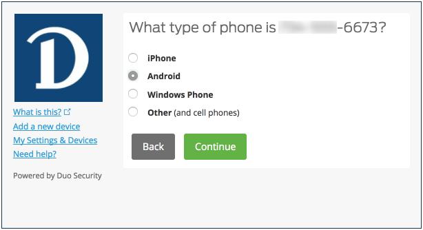 What type of phone screenshot
