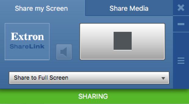 Extron ShareLink Interface