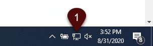 Network Icon on Windows