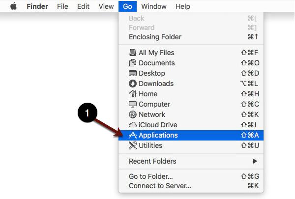 Opening Applications screenshot