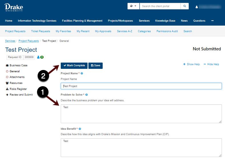 Reviewing request screenshot