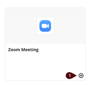 Zoom tool link from the content market