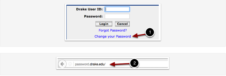 blueView or password.drake.edu login